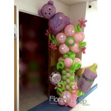 Sweet Teddy Bear Balloons