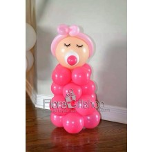 Little Baby Girl Balloons
