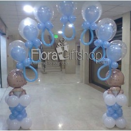 Flying Baby Feeders Arch Balloons