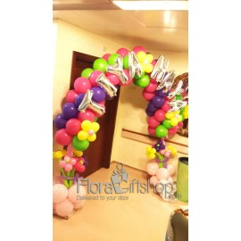 Colorful Flowers Balloons