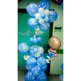 Big Baby Girl Swing Balloons