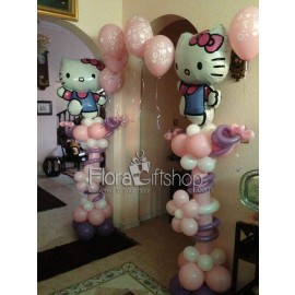 My baby Girl Arch Balloons