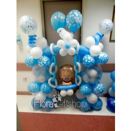 Baby Boy Swing Balloons