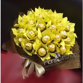 Sunshine Ferrero Bouquet