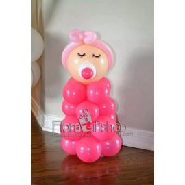 Little Baby Girl Balloons