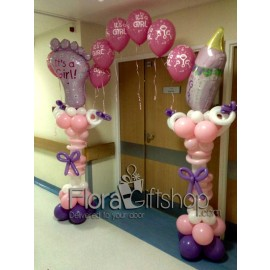 Baby Foot Arch Balloons