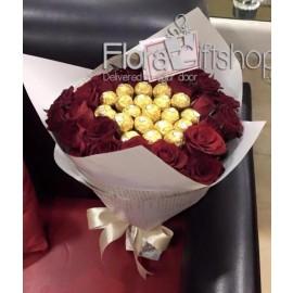 Stunning Fresh Roses Bunch