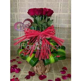 Volcanic Love Roses