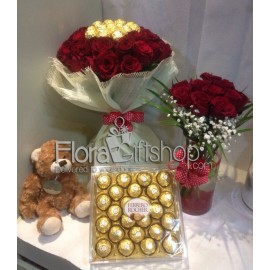 Complete Package of Roses