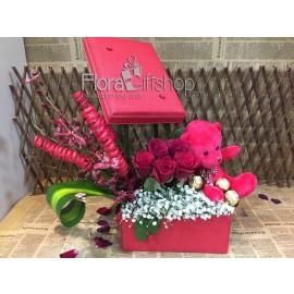 Red Box Roses