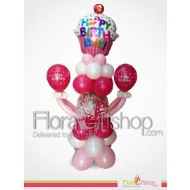Mango Style Birthday Balloons