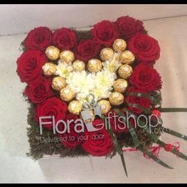 Golden Love Roses