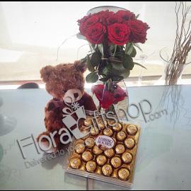 Teady Bear and Ferrero mix