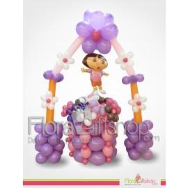 Dora Birthday Balloons