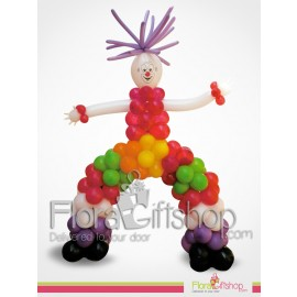 Big Colorful Man Birthday Balloons