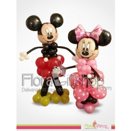 Micky and Mini Mouse Birthday Balloons