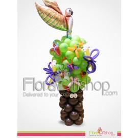 Birthday Tree Balloons