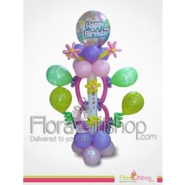 Cheerful Happy Birthday Balloons