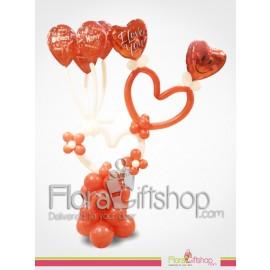 I Love You Birthday Balloons
