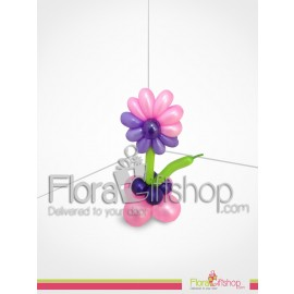 Purple & pink Flower Balloon