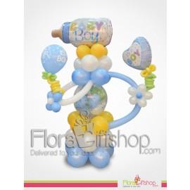 Big Baby boy bottle balloons