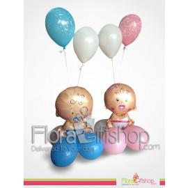 Cute Babies Balloons