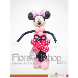 Mini Mouse in Red Balloons