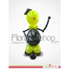 Hello Graduation Balloons