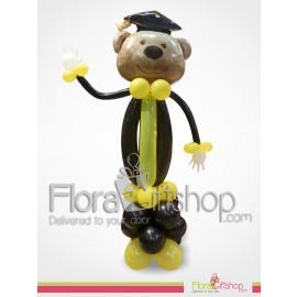 Congrats Bear Balloons
