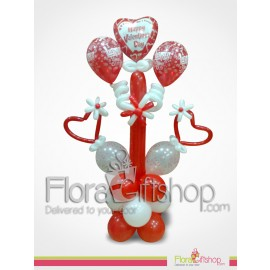 Standing Love Balloons