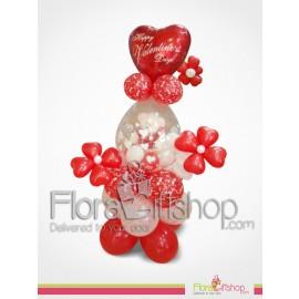 valentine Bear Balloons
