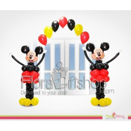 Micky Mouse Welcomes You Balloons