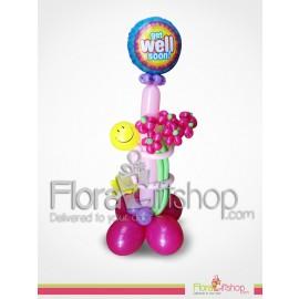 Huging Roses Balloons