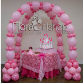 Tent Style Balloons Arch