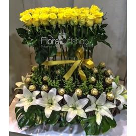 Yellow Ferrero Garden