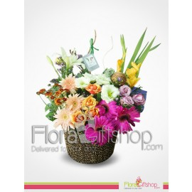Colorful Flowers Gift