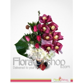 Flower and Ferrero Style
