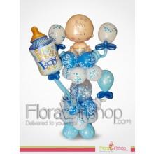 Blue Nest Balloons